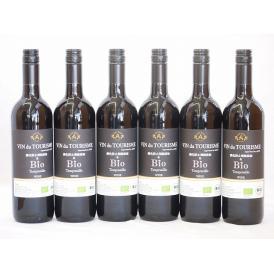 6本セット(スペインオーガニック赤ワイン テンプラリーニョ種ヴァンドゥツーリズムalc.13%辛口)