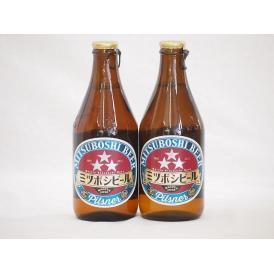 2本セット(尾張名古屋クラフトビール ミツボシピルスナーalc.5%金しゃち) 330ml×2本