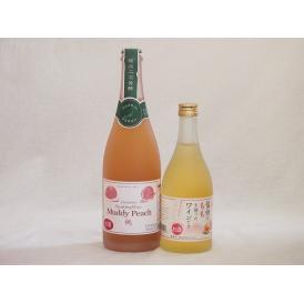 ピーチ大好きお酒2本セット(信州ももワイン甘口(長野県) スパークリングピーチワイン(山梨県)) 5