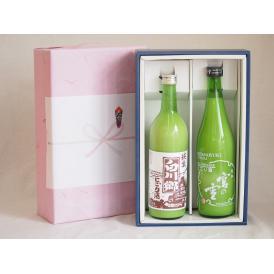 感謝贈り物ボックス2本セット(宮の雪 にごり酒 白川郷 純米にごり) 720ml×2本