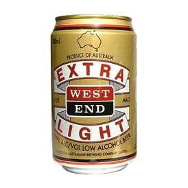 【送料無料】ウエストエンドエキストラライト ノンアルコール0.9% ☆330ml缶×24本 【ノンアルコールビール】