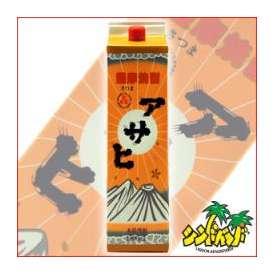 味わいと価格に大満足! 芋焼酎 日當山醸造 アサヒ 1800mlパック ギフト、贈り物に!