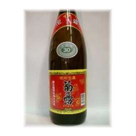 【沖縄県】 泡盛 「菊之露30度」 1800ml ギフト、贈り物に!