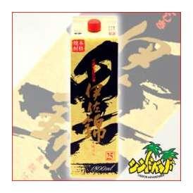地元でも絶大な人気を誇る芋焼酎 大口酒造 【黒伊佐錦】 【1800mlパック】 ギフト、贈り物に!