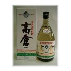 黒糖焼酎・高倉30度720ml ギフト、贈り物に!