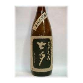 焼酎ファンなら一度は飲んでおきたい逸品です 田崎酒造 七夕「黒麹」1800ml ギフト、贈り物に!