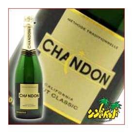 スパークリングワイン 「シャンドン カリフォルニア ブリュット クラシック」 白 750ml 【並行】 ギフト、贈り物に!