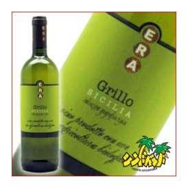 オーガニックワイン 「エラ グリッロ オーガニック」 750ml 白ワイン イタリアワイン ギフト、贈り物に!