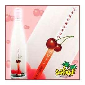 白百合醸造 「さくらんぼのワイン」 6度490ml ロゼワイン:甘味果実酒 ギフト、贈り物に!