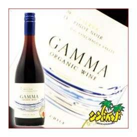 チリワイン 【ガンマ・オーガニック・ピノ・ノワール・レセルバ】 750ml 赤ワイン・ギフト、贈り物に!