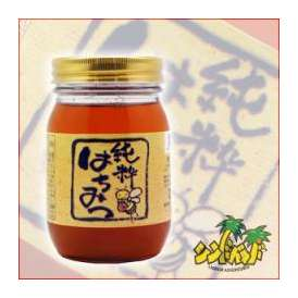 純粋はちみつ(ブレンド蜂蜜)八女養蜂場 500グラム 福岡県 蜂蜜