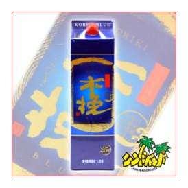 木挽 BLUE (こびき ブルー) 25度 1800mlパック 芋焼酎 雲海酒造 宮崎県 ギフト、贈り物に!