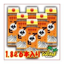 「アサヒ」 1800mlパック 6本セット 日當山醸造 芋焼酎 【まとめ買いがお得!】