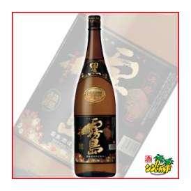 芋焼酎 霧島酒造 「黒霧島」 (くろきりしま) 20度1800ml瓶 ギフト、贈り物に!