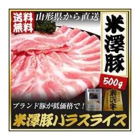 米澤豚 バラスライス