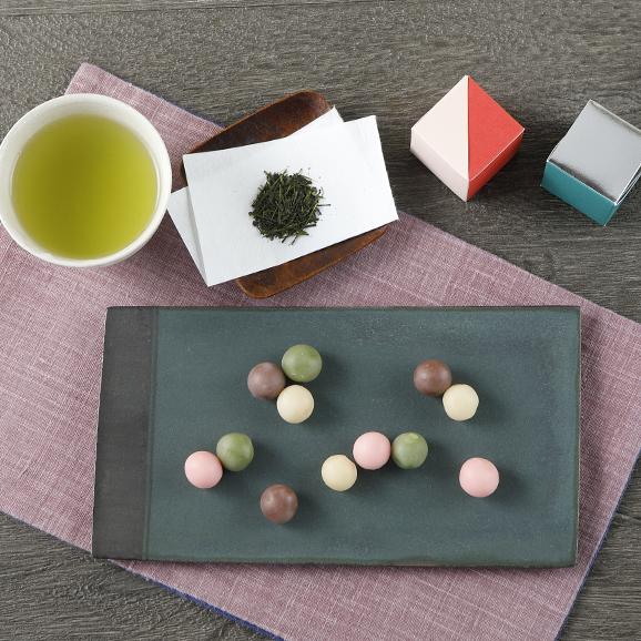お茶とお菓子の詰合わせ01