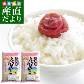 令和元年産 <特A> 北海道産 ふっくりんこ 10キロ お米 北海道米 送料無料