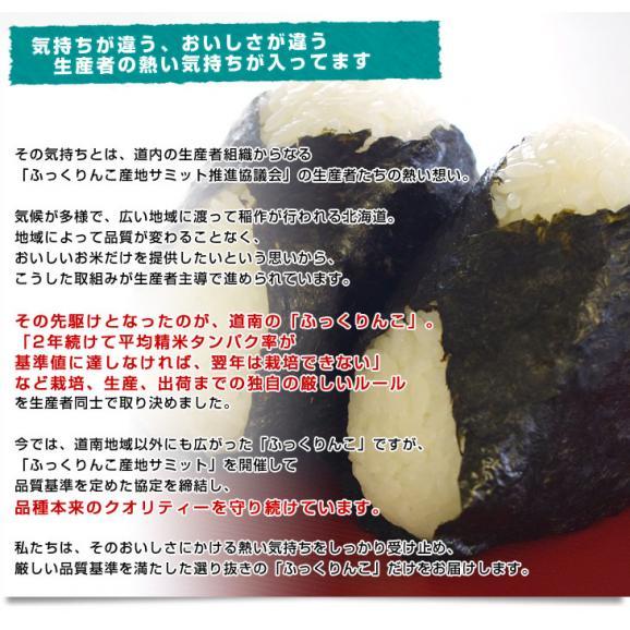令和元年産 <特A> 北海道産 ふっくりんこ 10キロ お米 北海道米 送料無料05