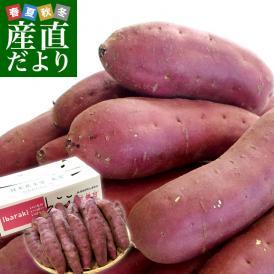 茨城県より産地直送 JAなめがたしおさい さつまいも「紅優甘 (べにゆうか)」 Mサイズ 5キロ(18本前後) 送料無料 さつま芋 サツマイモ 薩摩芋
