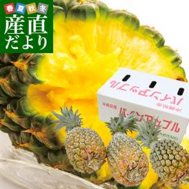 沖縄パインアップル!手でちぎって食べられるスナック感覚のパイン!