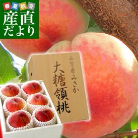 桃好きなら知っている、一目置かれる桃「御坂の大糖領」
