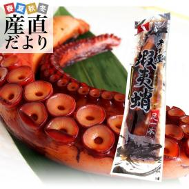 送料無料 北海道産 孝子屋のタコの柔らか煮 柔らかタコ足 極太一本<蝦夷蛸>  500g