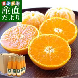 長崎県産 JAながさき西海 味っ子ストレートジュース 500ml×12本 送料無料 みかん 蜜柑 ミカン 味っ子 出島の華