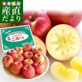 青森県より産地直送 JA津軽みらい 蜜入りりんご「こみつ」 小玉 2キロ (12玉から13玉) 送料無料 林檎 りんご