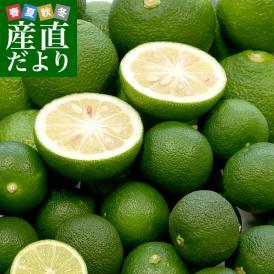 各県特産ブランド 香酸柑橘類セット(徳島県産すだち、大分かぼす、高知県産青ゆず)合計約1.2キロ 送料無料 市場発送