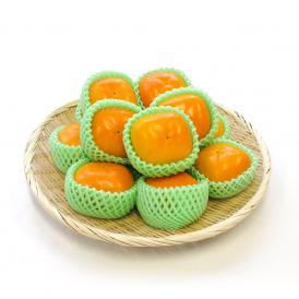 送料無料 奈良県産 たねなし柿 Lサイズ 約2.5キロ (13玉)  柿 たねなし柿 刀根柿 平種無柿