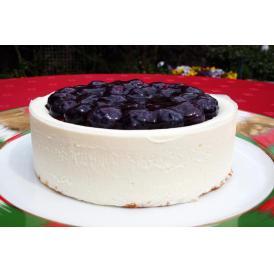 皇室御用達・有機JAS認証ブルーベリーたっぷり濃厚チーケーキ『ベリーベリー』