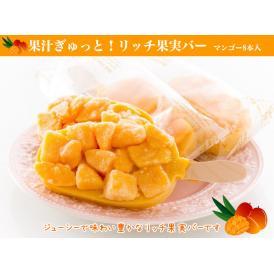 果汁ぎゅっと!リッチ果実バー(マンゴー)8本入