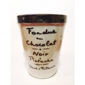 オ・アニゾ ティエール・ド・ロワ ダークピスタチオ チョコレートフォンデュ