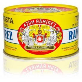 現存する中で世界最古の缶詰メーカーRamirez社のツナ缶です。