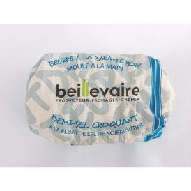 Beillevaire(ベイユヴェール)クリスピー有塩バター(demi-sel croquant)125g