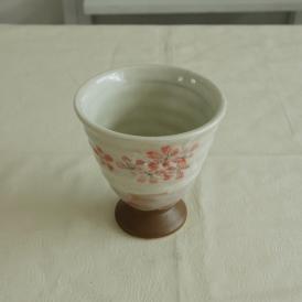 【業務用/和食器/産直】【送料無料】平安桜フリーカップ×10個セット サイズ約φ10×T10cm (39H2)n