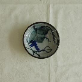 【業務用/産直】【送料無料】粉引ぶどう薬味皿×20個セット サイズ約φ8.7×T2cm (28A6)n