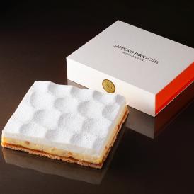 ◆お取り寄せスイーツ◆【ダブルチーズケーキ】 オレンジ フルサイズ