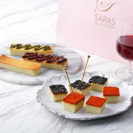 世界三大ブルーチーズの 1 つと言われているゴルゴンゾーラを使用した大人のチーズケーキです。