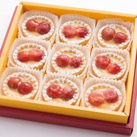 甘さを控えた上品な味、さくらんぼ佐藤錦のタルト