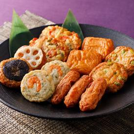 枕崎港に水揚げされる魚種を混ぜ合わせ、一番搾りの菜種油で揚げた「昔ながらの味わい」のさつま揚げです。