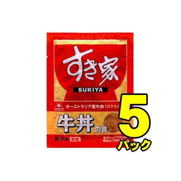 トロナジャパン すき家 牛丼の具 135g×5パック