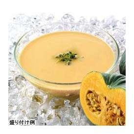 冷たいパンプキンのスープ