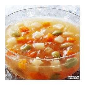 【冷たいスープ】具入りタイプ 【SSK】 シェフズリザーブ冷たい「野菜と豆を食べるコンソメジュレスープ」  1人前(160g) (冷製スープ) 【レトルト食品】【jo_62】