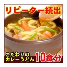 全てのカレーうどんのために開発された素材を使用した究極の讃岐カレーうどん(10食)