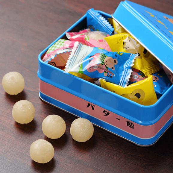 小熊のプーチャンバター飴 缶入 【約75g】02