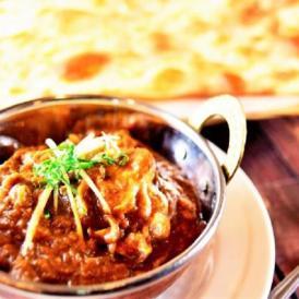 本格インド料理のカレーじっくりご賞味下さい!おススメのセットです!