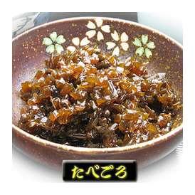 「たべごろ 50g」 わかめの茎と山椒の佃煮です。