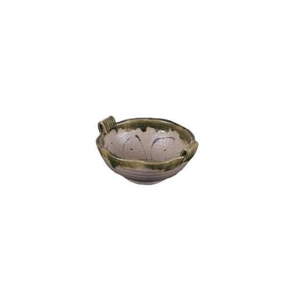 盛鉢渕織部線紋手付波型鉢和食器美濃焼業務用食器