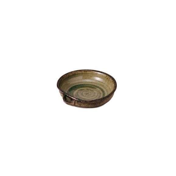 盛鉢灰釉片口8.0鉢和食器美濃焼業務用食器
